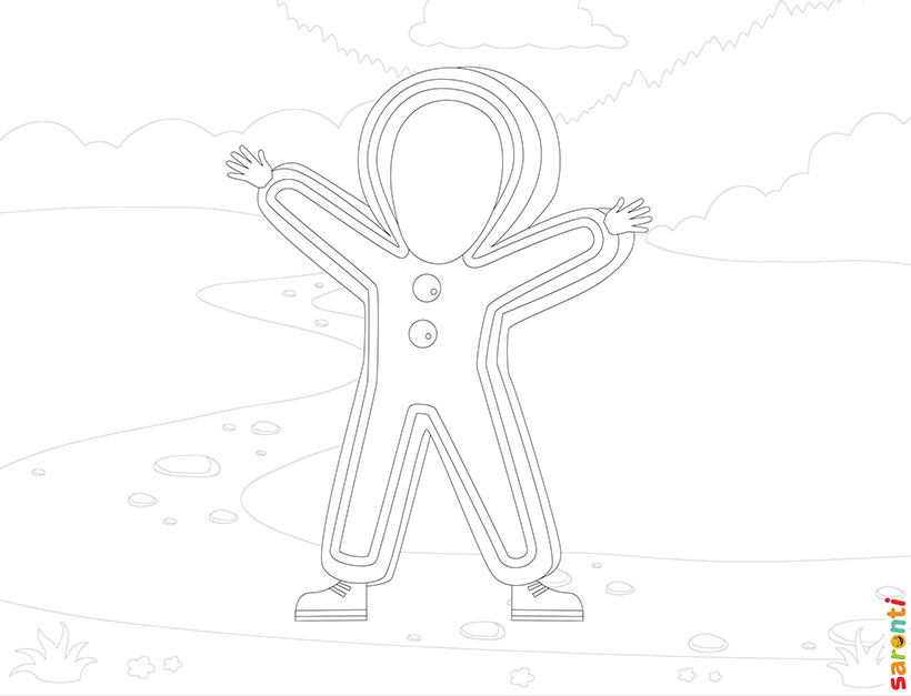 personalised-colouring-gingerbread-man