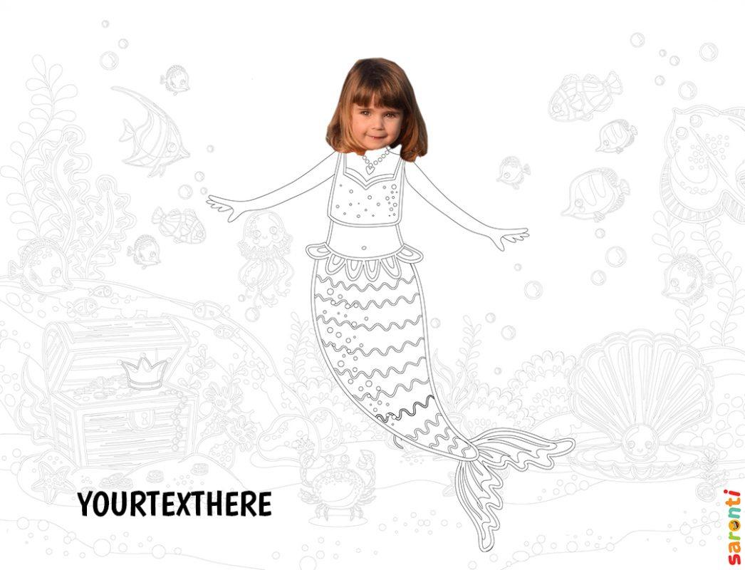 personalised-colouring-mermaid