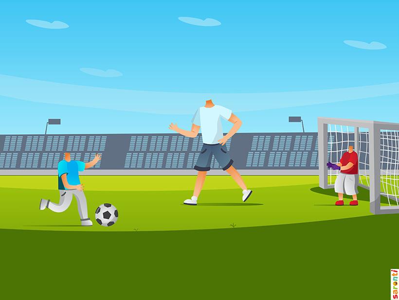 personalised-family-portrait-football-1adult-2kids