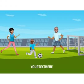 personalised-family-portrait-football-2adults-1kid