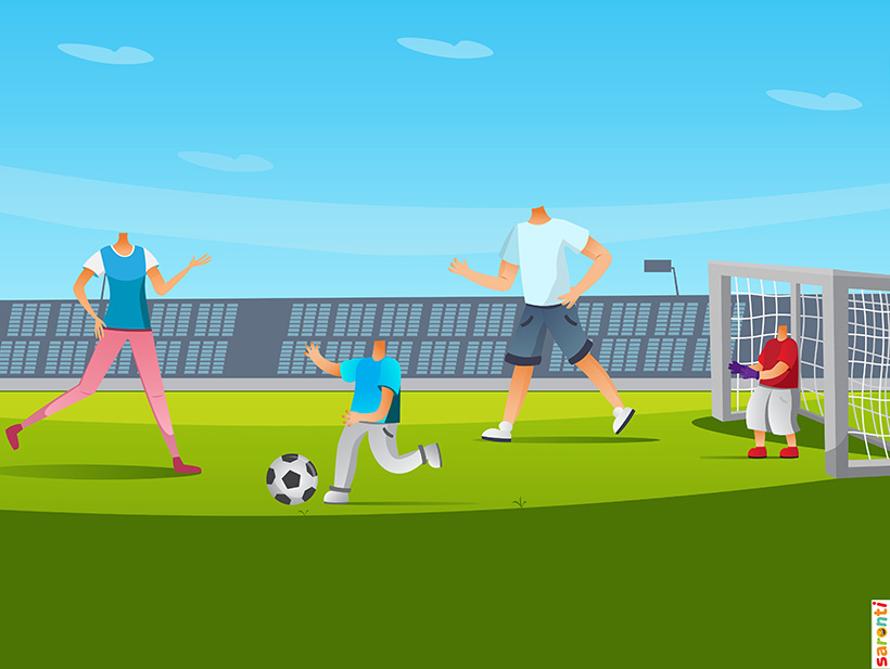 personalised-family-portrait-football-2adults-2kids