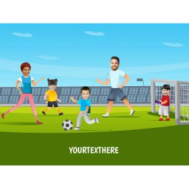 personalised-family-portrait-football-2adults-3kids