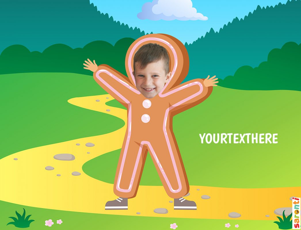 personalised-gingerbread-man-picture