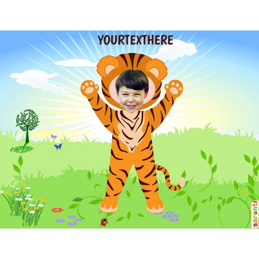 personalised-tiger-picture