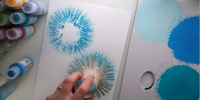 pressing paint