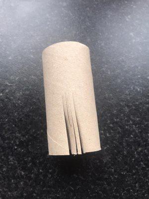 cut toilet roll