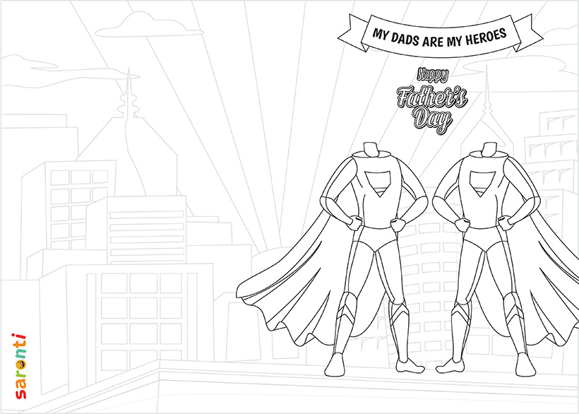 personalised-fathers-day-card-Superhero-2dads-colouring