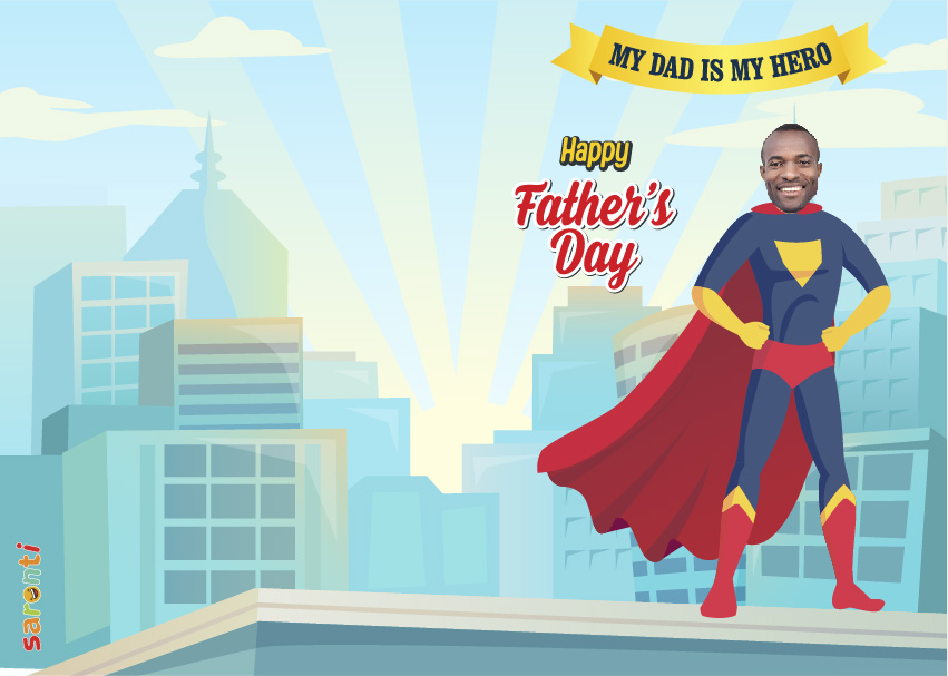 personalised-fathers-day-card-Superhero-portrait