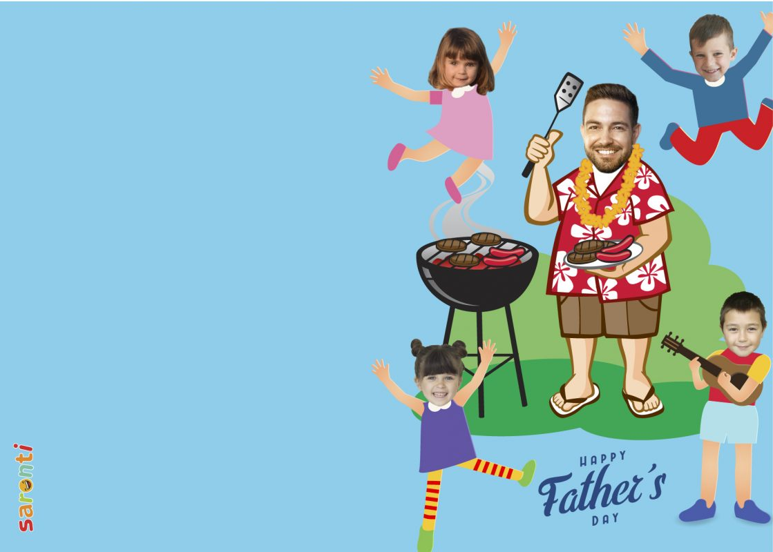 personalised-fathers-day-card-barbecue-portrait-4kids-01