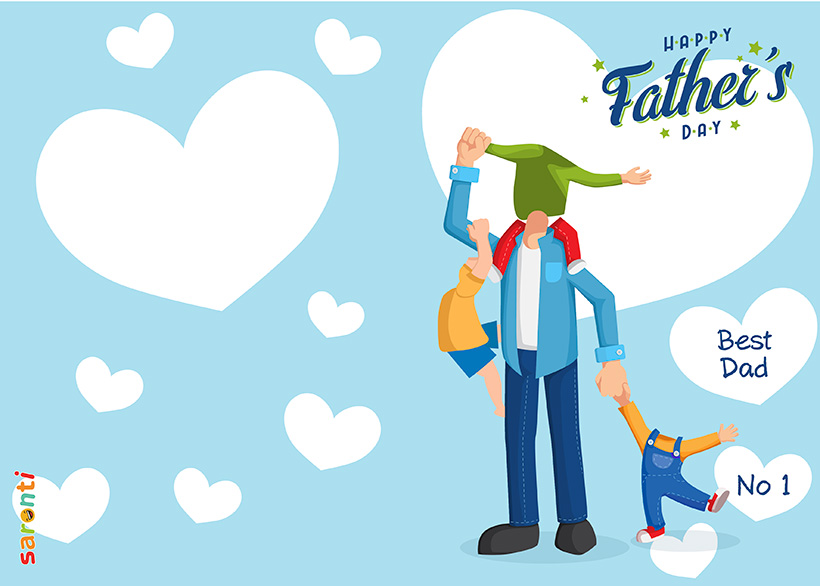 personalised-fathers-day-card-dad-3-boys-portrait