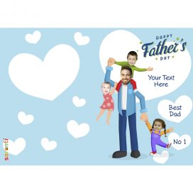 personalised-fathers-day-card-dad-3-kids-portrait-01