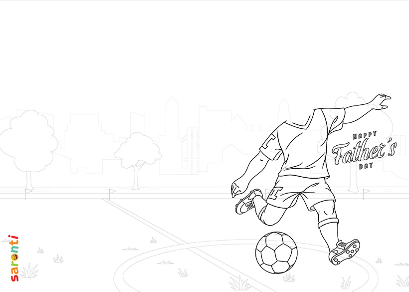 personalised-fathers-day-card-football-colouring