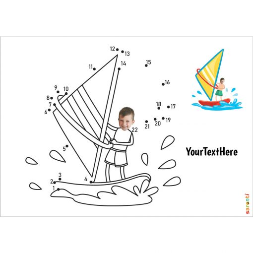 windsurfer dot to dot
