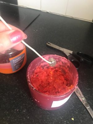 adding candle wick