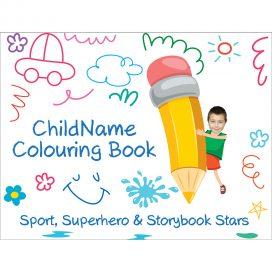 colouring book for boys