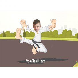 karate kids portrait