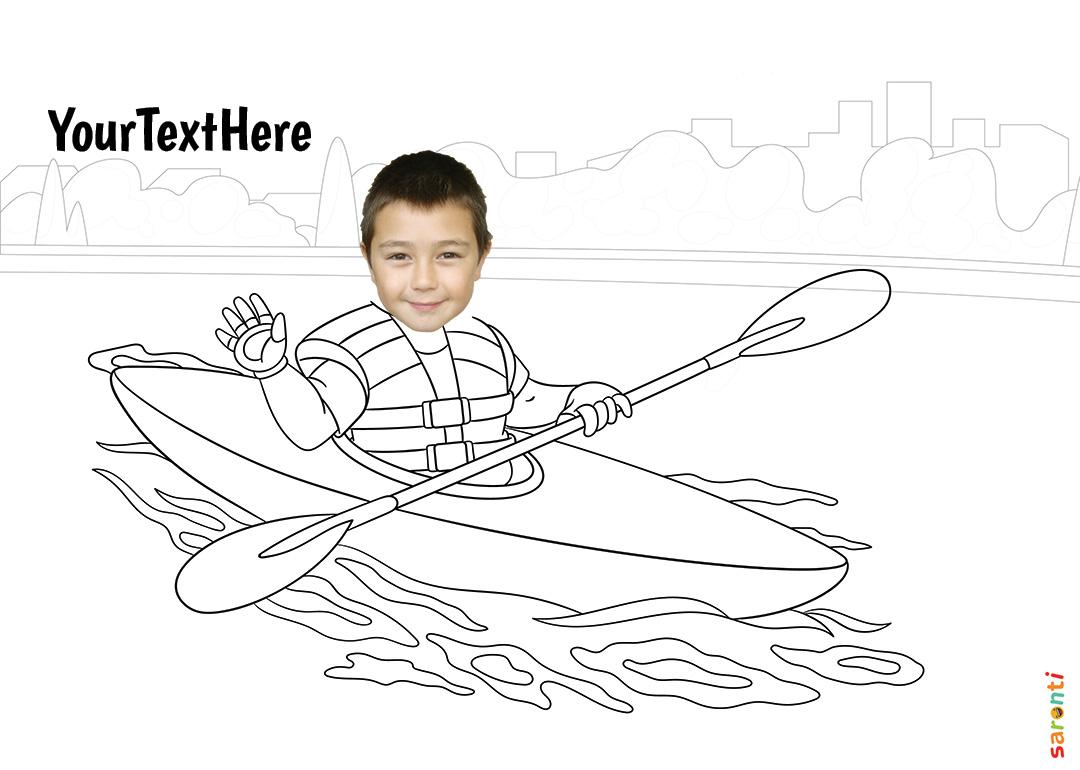 personalised-colouring-sport-kayak